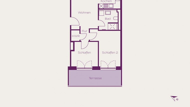 2 Rooms Apartment